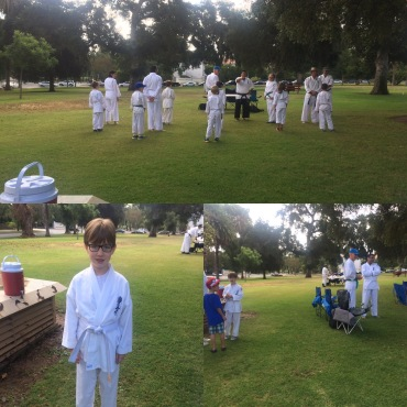 karate promotion